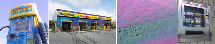 Some pictures taken around the carwash